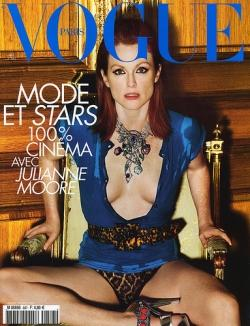 Julianne Moore en couverture de Vogue