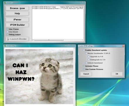 Winpwn : Pwnage pour Windows est dispo