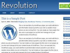 Revolution blog theme is now free