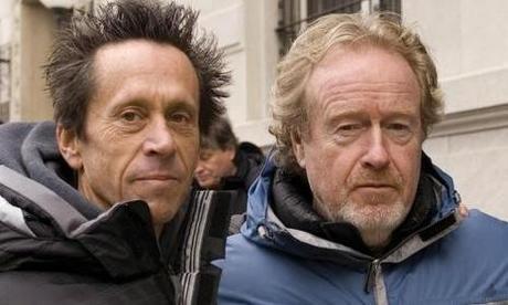 BRIAN GRAZER & RIDLEY SCOTT sur le tournage d'AMERICAN GANGSTER