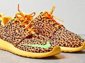 Nike Roshe Orange Leopard