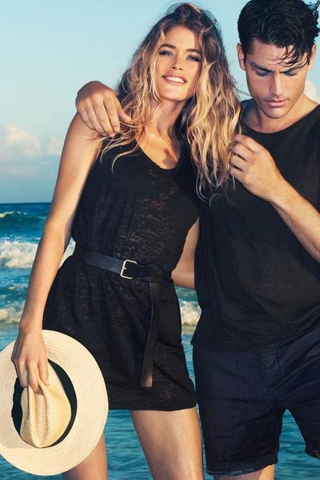 Mode : Doutzen Kroes, égérie H&M; été 2013