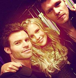 BTS Photoshoot de 'The Originals'