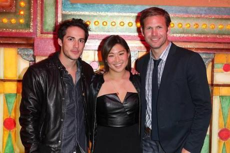 Matt Davis et Michael Trevino au Moulin Rouge
