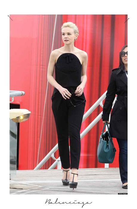 o CAREY MULLIGAN cannes 2013 Balenciaga copie Festival de Cannes