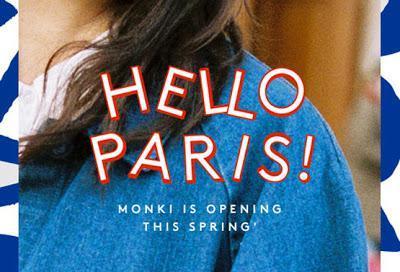 Monki - nouvelle enseigne du groupe H&M; en France