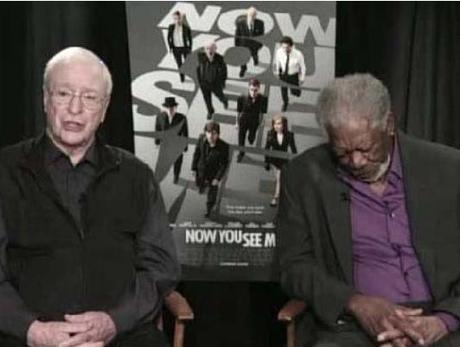 MORGAN FREEMAN, 75 ANS, S'ENDORT EN PLEINE INTERVIEW AUX COTES DE MICHAEL CAINE