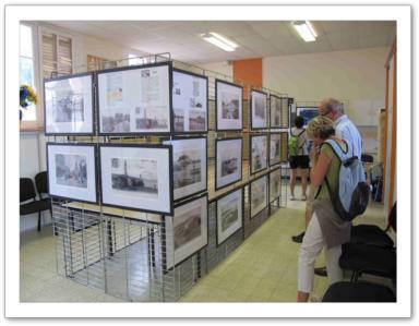 Exposition au fort de l'Estissac