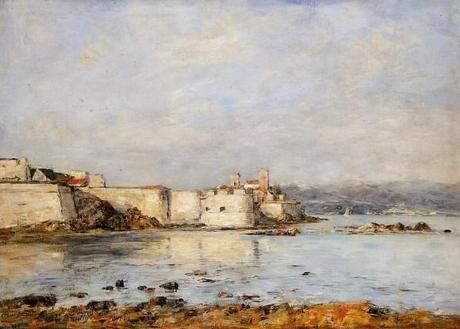 Eugene-Boudin-Antibes-the-Fortifications