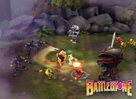 Battlestone sur iPhone, un époustouflant jeu d'action de type arcade...