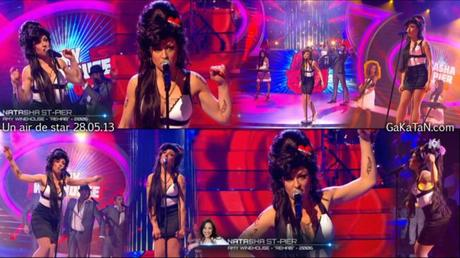 Natasha St Pier en Amy Winehouse dans Un air de star PHOTO
