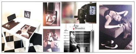 ARTY sensation triumph, lingerie féminine, mannequin,gérard uféras