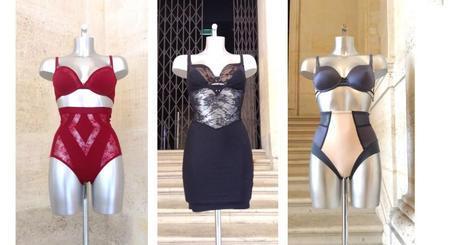 shape sensation triumph, exposition arty sensation musée arts décoratifs, lingerie