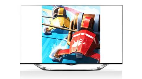 Slingshot Racing LG SMart TV application