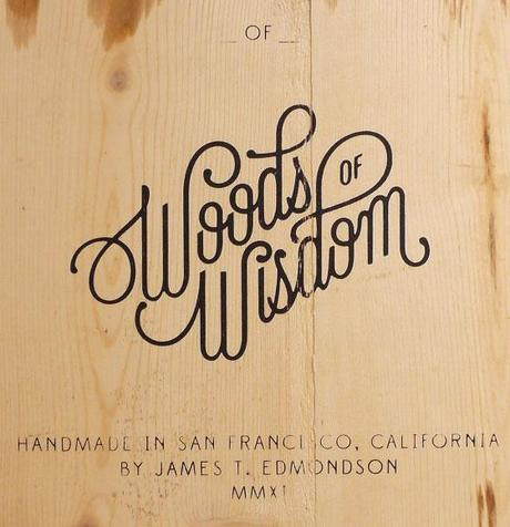 Typefaces and lettering by James T. Edmondson