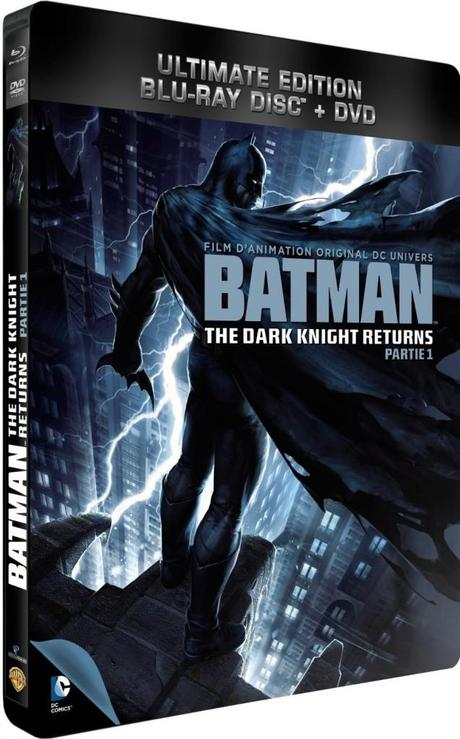 Test DVD/Blu Ray : Batman The dark knight returns Partie 1 – Ultimate Edition