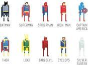 Super Héros Pixel