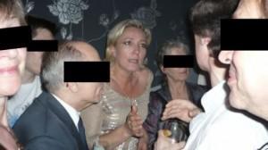 Marine Le Pen, chez Batskin en 2008