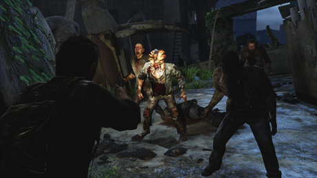 aiming runners clicker Test : The Last of Us