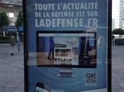 mauvaise campagne d'affichage Défense