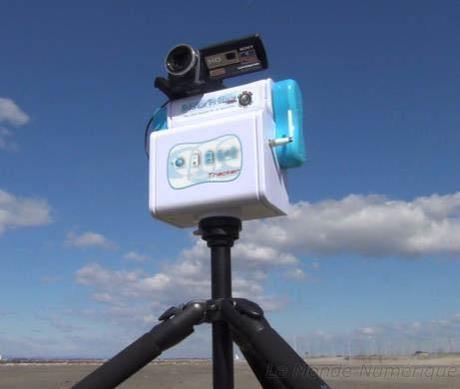 Move'N See Tracker&Beeper;, un système automatique pour filmer ses propres exploits