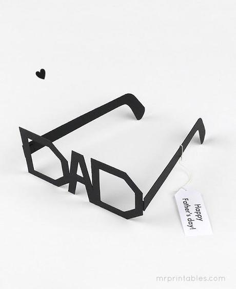 Father's day DIY superglasses
