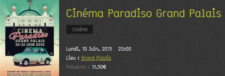 cinema paradisio grand palais