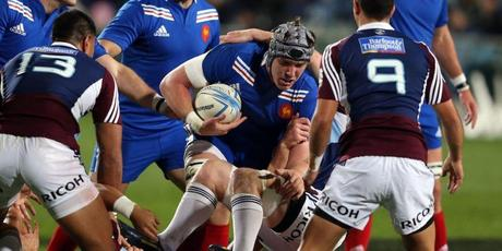 le XV de France domine les Auckland Blues