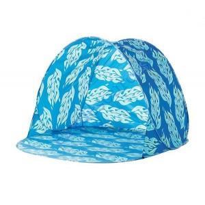 Tente de plage Pop Up Anti UV (40+) BLEU