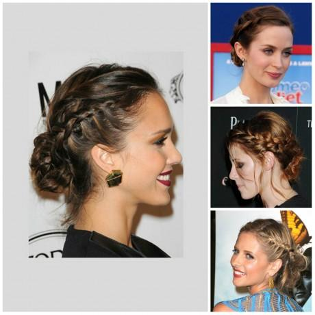 tuto coiffure le chignon tress de jessica alba voir. Black Bedroom Furniture Sets. Home Design Ideas