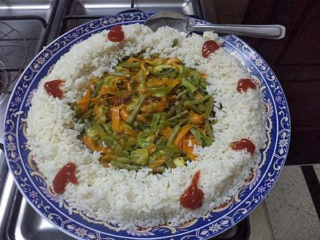 Couronne De Riz Et Poêlée De Légumes à Découvrir