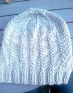 tricoter un bonnet point fantaisie