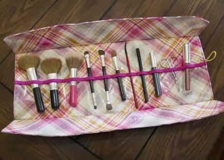 trousse maquillage DIY : trousse à maquillage