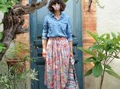Flowered skirt retour!!