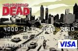 Des cartes de crédits The Walking Dead