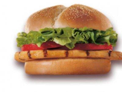 Sandwich au poulet de Burger King avec conservateurs et colorants