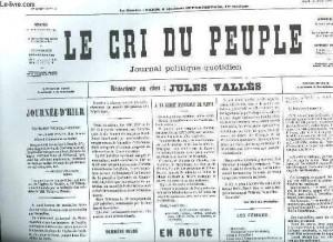 Le Cri du peuple - l'original