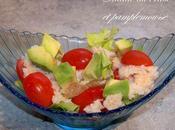 Salade crabe pamplemousse
