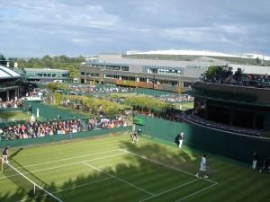 le court 18 de Wimbledon juin 2010