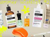 Let's Sunshine Wishlist (LIERAC, PHYTO, EMBRYOLISSE...)
