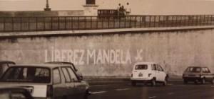 Libérez Mandela graffiti des JC