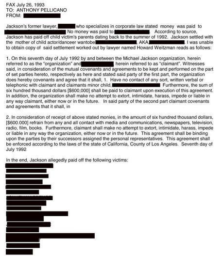 EST-CE QUE MICHAEL JACKSON A VRAIMENT PAYE 35 MILLIONS D'EUROS POUR FAIRE TAIRE 24 AFFAIRES DE PEDOPHILIE ? (documents du FBI - FBI files)