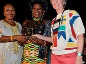 Rita marley remerciee honoree forum femmes (iwf) pour action afrique