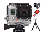 Soldes Pack GoPro Hero3 Black Edition accessoires 450€
