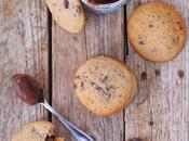 Biscuits moelleux crème marron pépites chocolat
