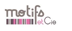motifs et cie logo Livre de couture : Barboteuse