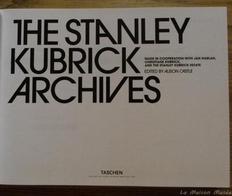 Avis The Stanley Kubrick Archives