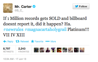 « Magna Carta Holy Grail » (Jay Z):Rebooter / Réinventer l'industrie musicale