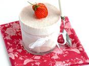 Soufflé glacé fraises fève tonka...IG