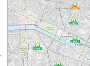 Paris, carte établissements accessibles disponible online